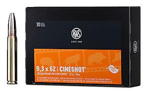 RWS - 9,3X62 CINESHOT 12,7/196 30er