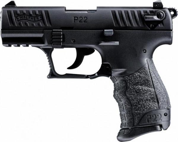WALTHER - P22 Q brüniert 9mm P.A.K. / 7