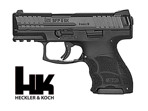 HECKLER & KOCH - SFP9 SK-SF schwarz 9mmPara