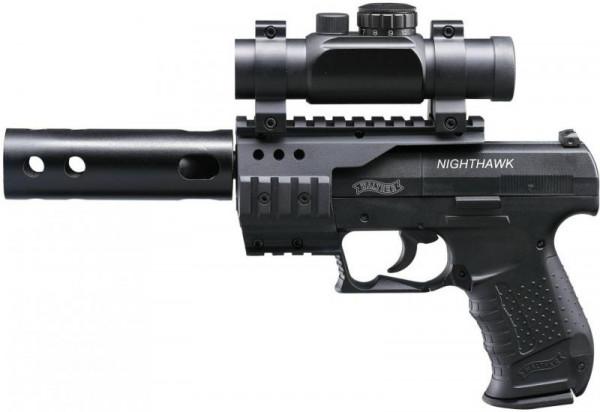 WALTHER - NightHawk schwarz 4,5mm - 8 Schuß