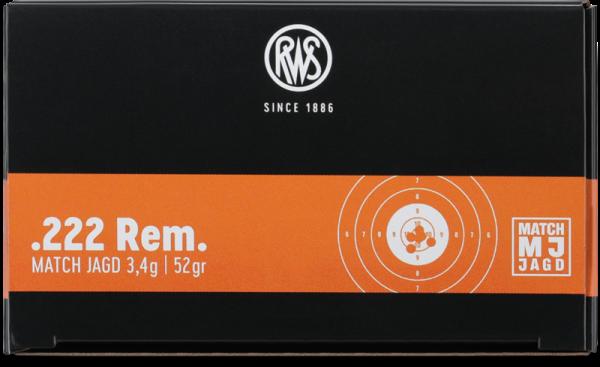 RWS - 222 Rem  MJ 3,4/52 - 30er 30er