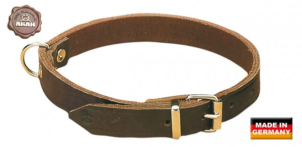 AKAH - Halsband braun 50cm