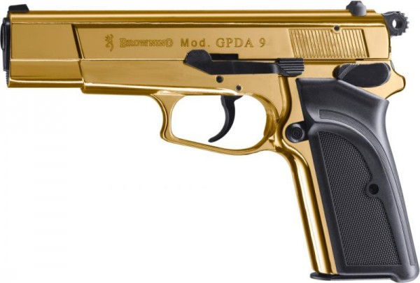BROWNING - GPDA 9 Goldfinish 9mm P.A.K.