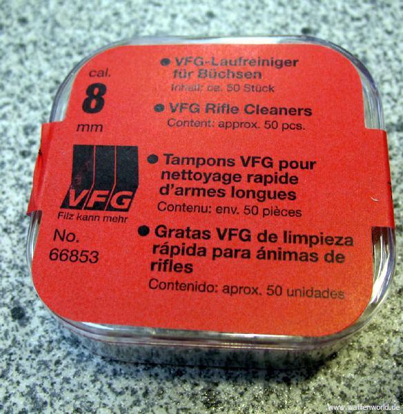 VFG - Laufreiniger 66853-8mm 50er