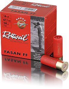 ROTTWEIL - 16/67,5 -2,4-7,5 FASAN FF Trap 2,4 28g