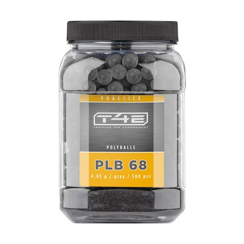 UMAREX - T4E 68 Practice PLB 68, cal. .68 - 500 Stk , tungsten gray