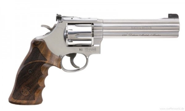 SMITH & WESSON - 686-6 TC Deluxe Match Master .357Magnum