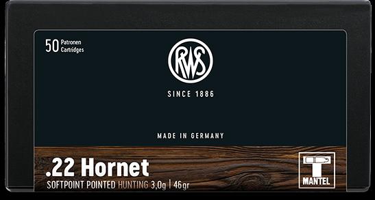 RWS - 22 Hornet TMS 3,0/50 20er