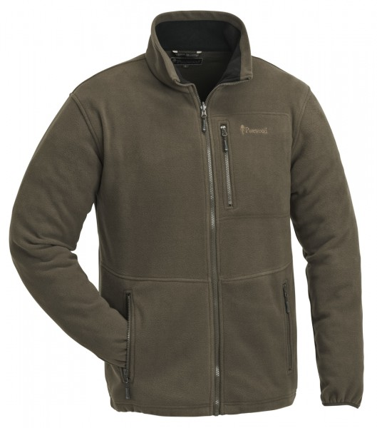 PINEWOOD - Fleecejacke FINNVEDEN brown (205)