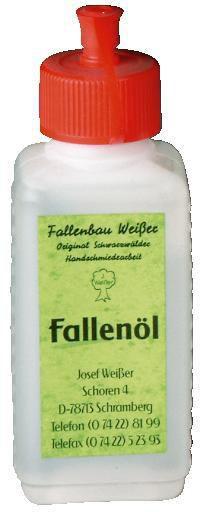 WEIßER - Fallenöl 100ml