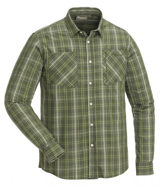 PINEWOOD - GLENN InsectShirt olive/dgreen 151 olive/d.green