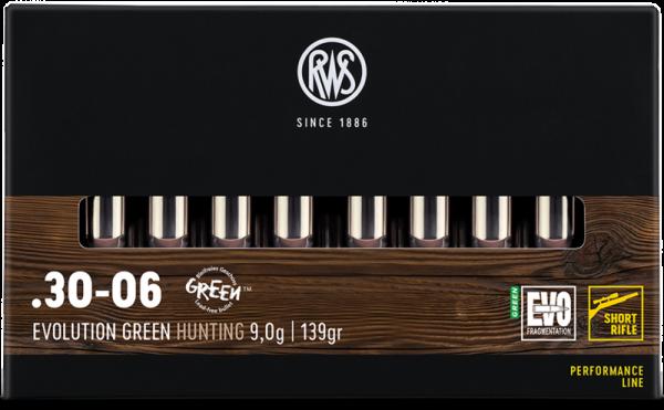 RWS - 30-06 EVO GREEN 9,0/139  SRF 20er