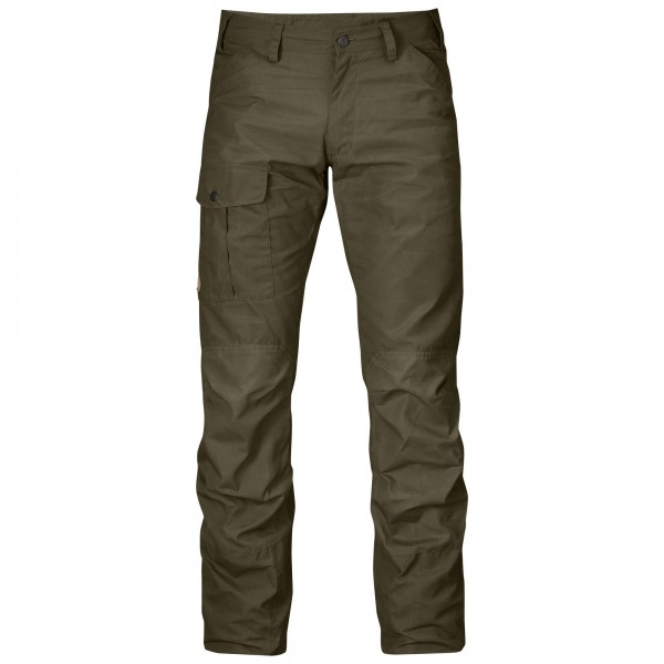 FJÄLLRÄVEN - Nils Trousers Regular dark oliv 633