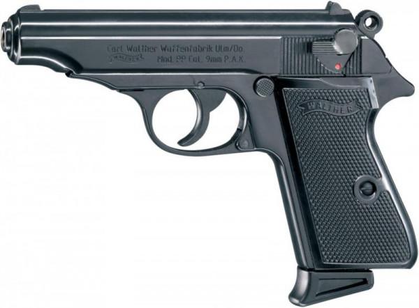 WALTHER - PP brüniert 9mm P.A.K. /7