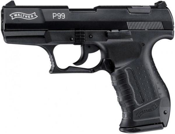 WALTHER - P99 brüniert 9mm P.A.K. / 15