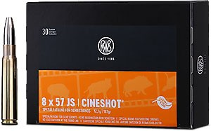 RWS - 8X57IS CINESHOT 12,1/187 30er