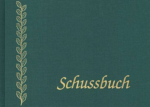 ALLJAGD - Schuss- und Jagdtagebuch A5 Leinen