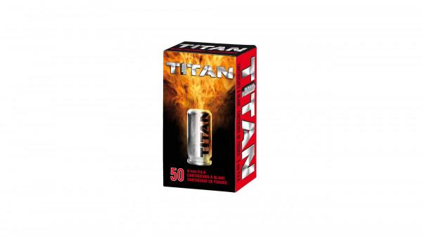 PERFEKTA - Titan Platzpatronen 9mm PAK 50St