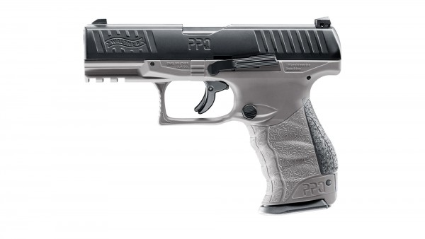 WALTHER - T4E PPQ M2 TungstenGray Co2 .43 < 7,5 Joule
