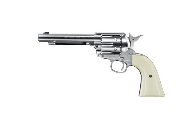 COLT - SAA 45-5,5'' Revolver Nickel BB 4,5mm -  6 shots,