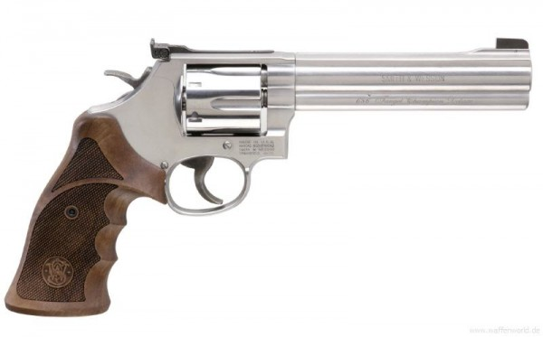 SMITH & WESSON - 686-6 Target Champion Deluxe .357Magnum