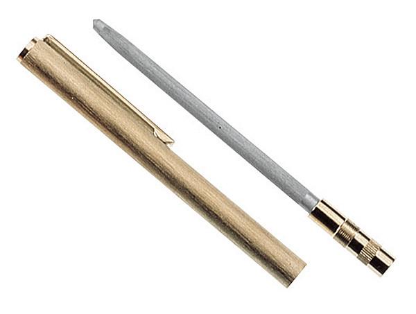 HERBERTZ - Abziehstahl Kugelschreiberform 7cm Stahl