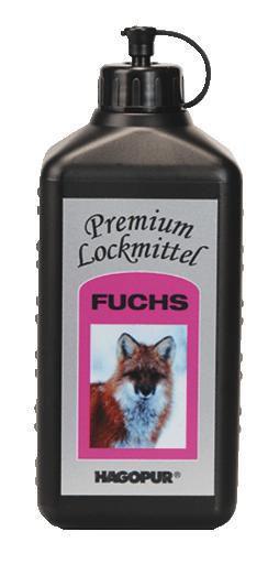 HAGOPUR - Fuchs 0,5 Liter Premium Lockmittel