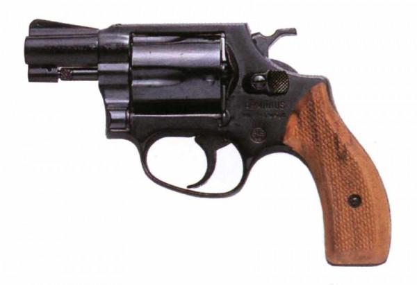 WEIHRAUCH - HW88 Super Airweight schwarz 9mm R.K.