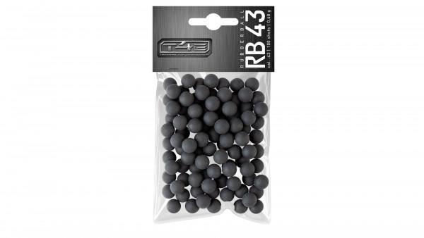 UMAREX - T4E 43 RB Rubber Ball .43 - 100Stk Gummikugeln