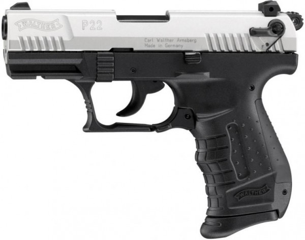 WALTHER - P22 Bicolor 9mm P.A.K. / 7