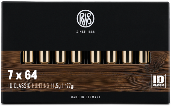 RWS - 7x64 ID-Classic 11,5/177* rote Ringfuge 20er