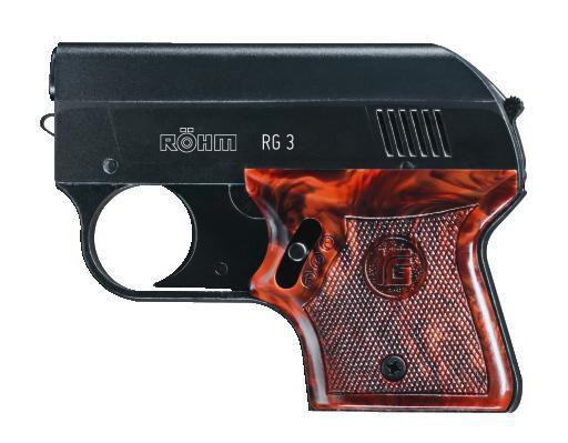RÖHM - RG 3 brüniert 6mm