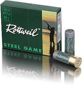 ROTTWEIL - 16/67,5-70-3,0-5 SteelGame 26g  *Normalbeschuss*