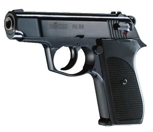 RÖHM - RG 88 brüniert 9mm P.A.K.