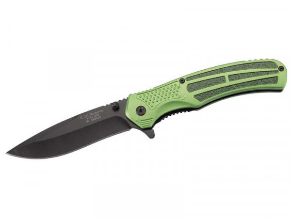 HERBERTZ - Einhandmesser grün