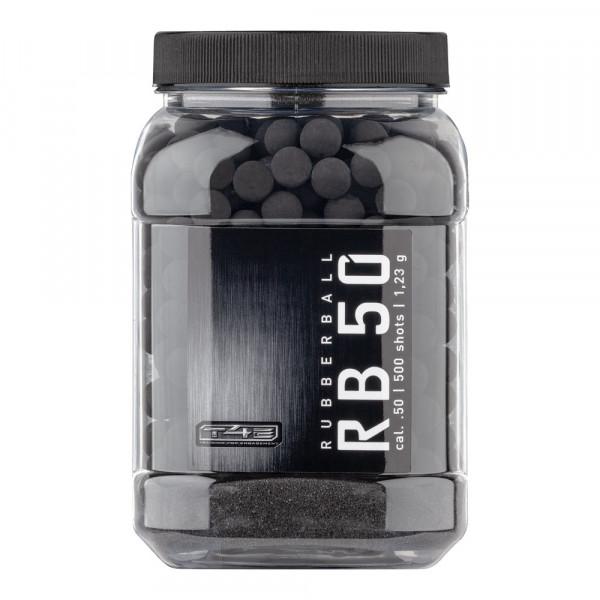 UMAREX - T4E 50 Rubberball +Prac-Series .50 - 500Stk Gummikugeln