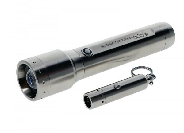 ZWEIBRÜDER - Led Lenser P7R Core & V8 Edelstahl Edition