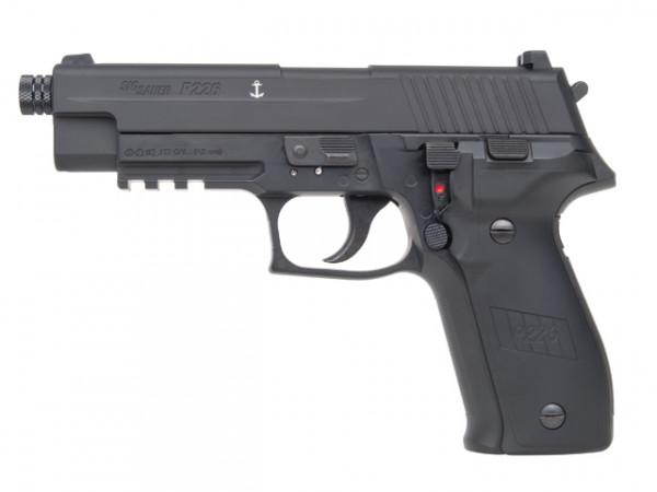SIG-SAUER - P226 BlowBack 4,5mm BB und Diabolo