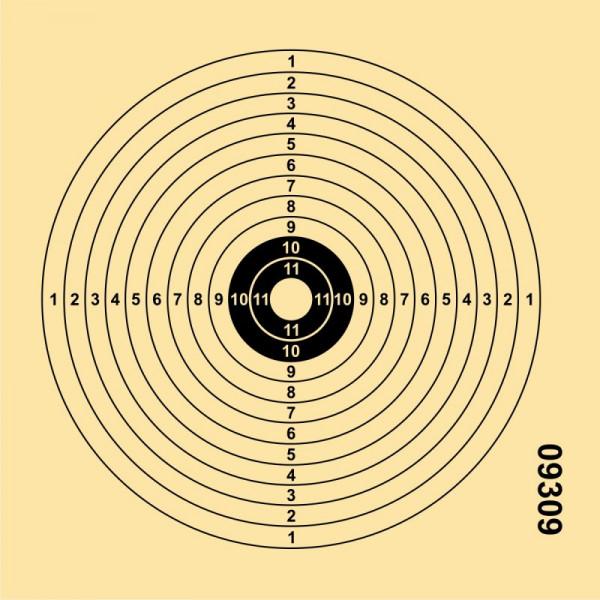 ALLJAGD - LG-Scheibe 12er Hobby 250St. 14x14 (14/12)