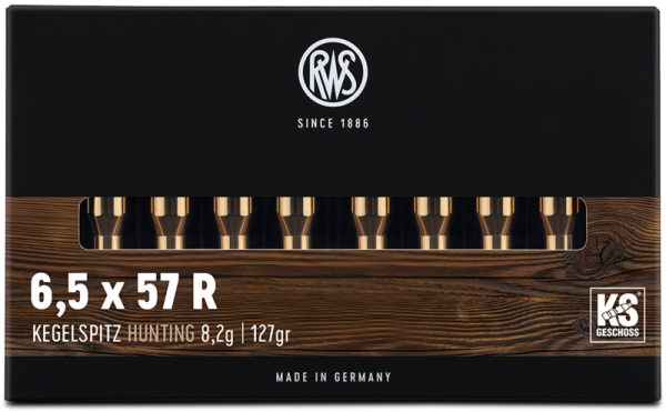 RWS - 6,5x57R KS 8,2/126* rote Ringfunge 20er