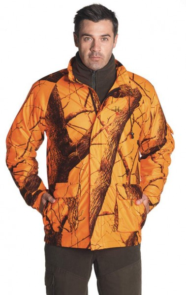 HALLYARD - Warn-/Tarnjacke Blaze-orange