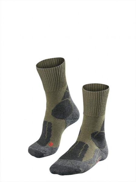 FALKE  - TK1 Socken olive 42-43