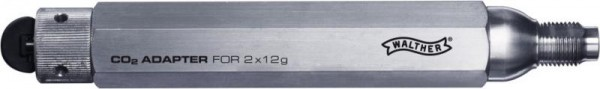 WALTHER - Co2-Adapter-Set inkl 8x12 g Co2 Kapseln