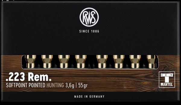 RWS - 223 Rem TMS 3,6/55 20er