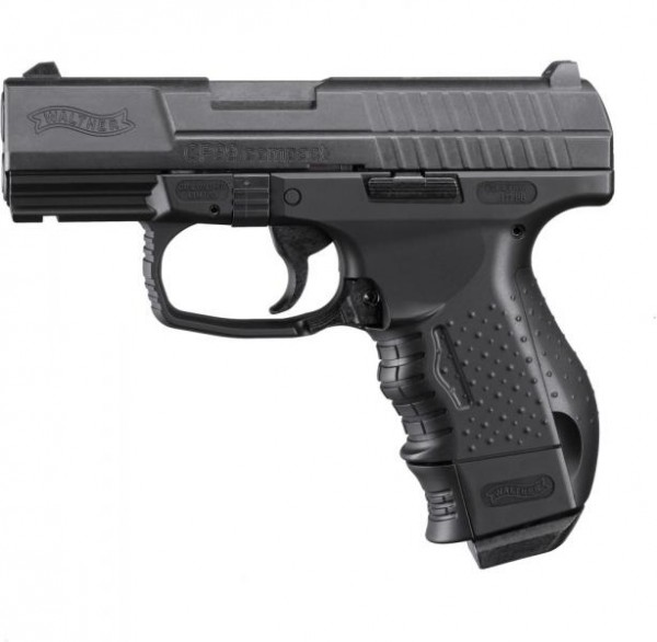 WALTHER - CP99 Compact brüniert BB 4,5mm Blow-Back-System