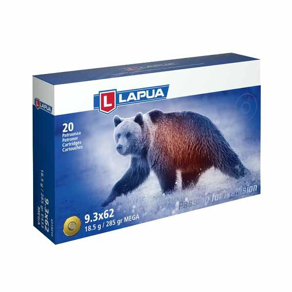 LAPUA - 9,3X62 MEGA 18,5g 20er