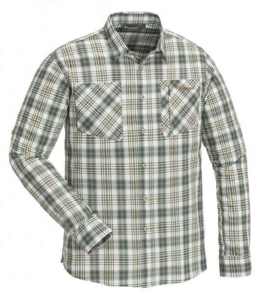 PINEWOOD - GLENN Shirt offwhite/green - 605
