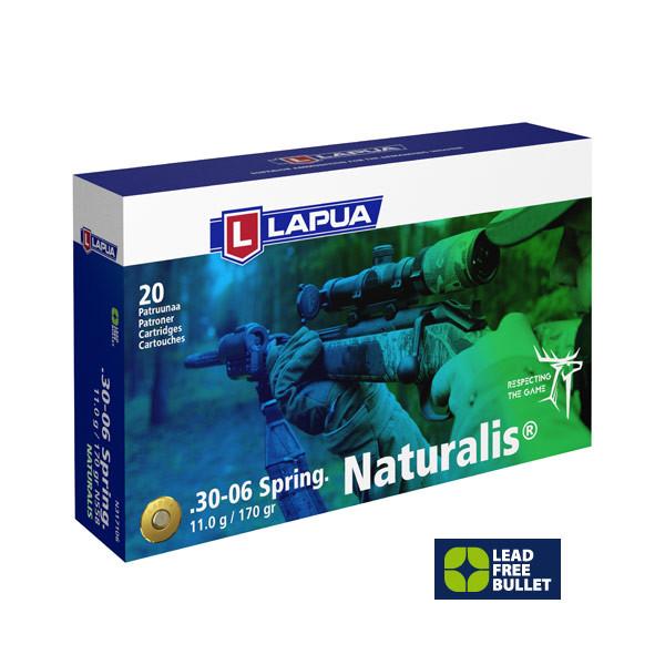 LAPUA - 30-06 Naturalis 11 LR 20er - bleifreie Jagdmunition