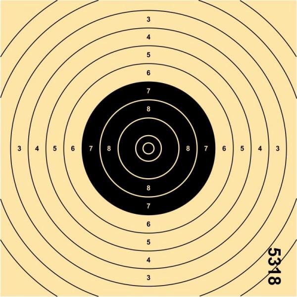 ALLJAGD - LP-Einsteckspiegel 250St. 13,5x13,5