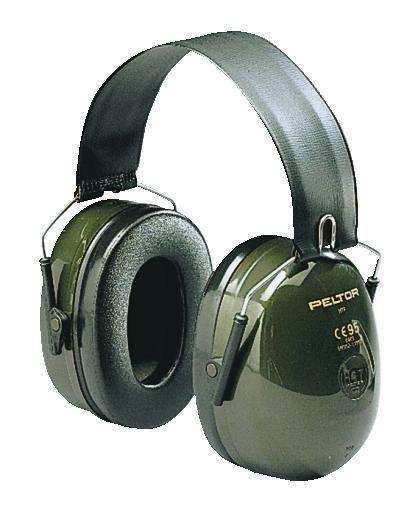 PELTOR - Gehörschutz H520F grün Optime II